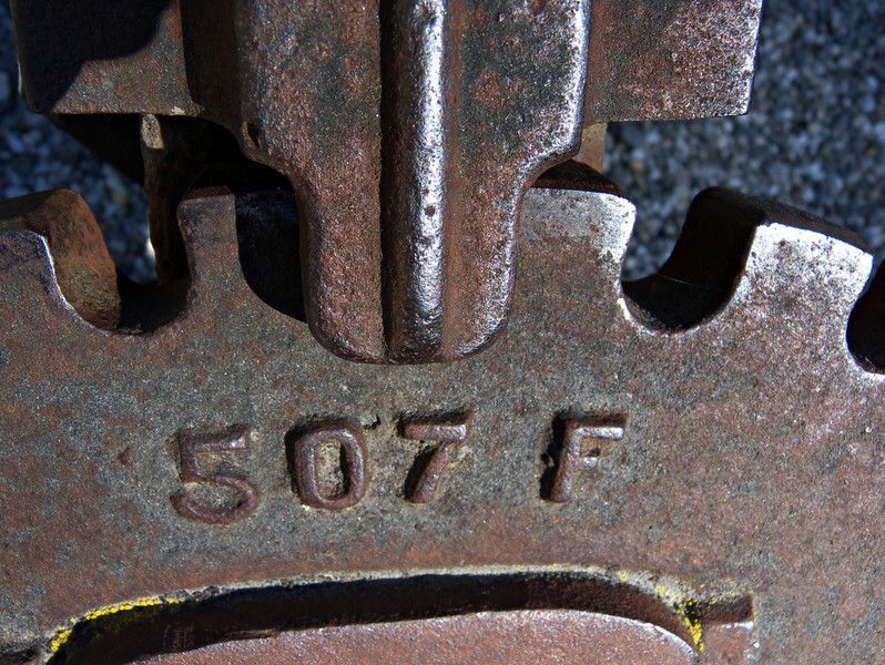 Machinery detail, Arrowtown