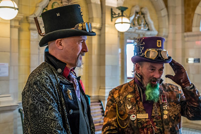 Steam Punk Station Greeters