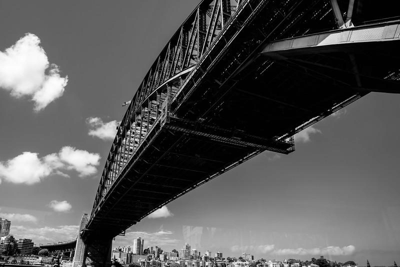 A bridge is like an arrow shot across the sky