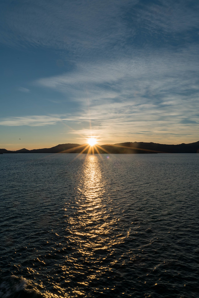 Sunrise, Queen Charlotte Sound