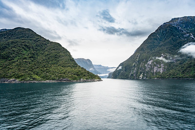 Entrance to Milford Sound