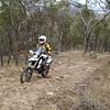 Martin cruising uphill.