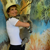 I can't decide which is cuter, Judy or the koala.