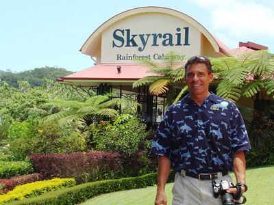 Skyrail ride over the Tropical Rainforest