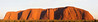 This is a large format panorama of Ayers Rock just after sun rise.