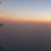 Off to Australia - sunrise catches up!