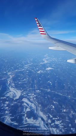 Plane ride home