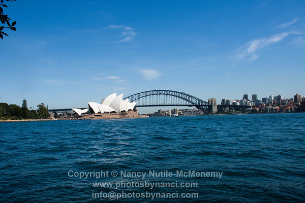Sydney Harbour Day and Night