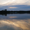 Late sunset, Lake Burley Griffin, Canberra