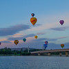 Balloons over the Lake, Canberra