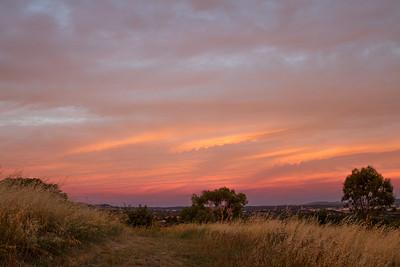 Evening glow over Nicholls