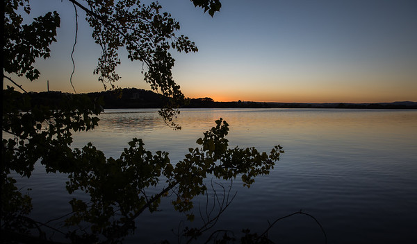 Sunrise over Lake Burley Griffin, Canberra