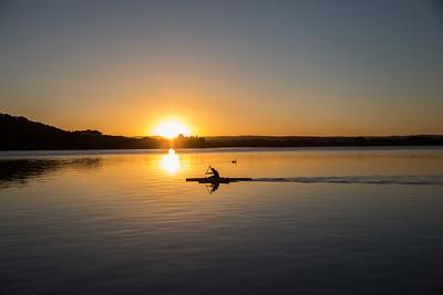 Morning Kayak on the lake