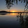 Sunrise over Lake Burley Griffn, Canberra