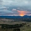 Sunset Over Canberra