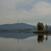 Moody blue autumn day, Canberra