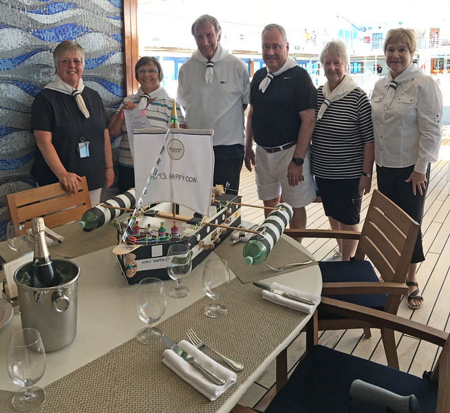 Winner - Boat building contest aboard the Sirena