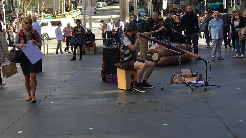 Video - Street Musician - Melbourne, Australia