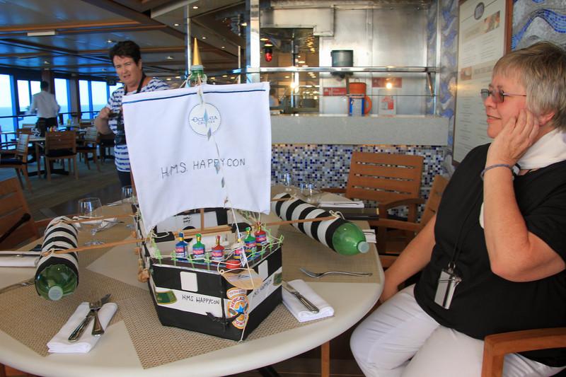 Winner - Boat building contest aboard the Sirena