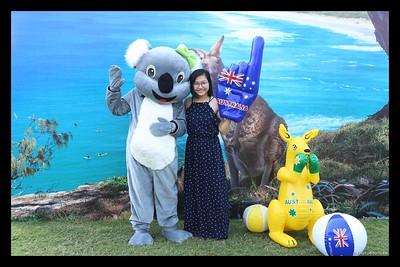 Australian Consulate-General | The Australia Day Community Event 2020 @ RMIT Saigon South Campus instant print photo booth | Chụp ảnh in hình lấy liền Sự kiện tại TP Hồ Chí Minh | WefieBox Photobooth Vietnam