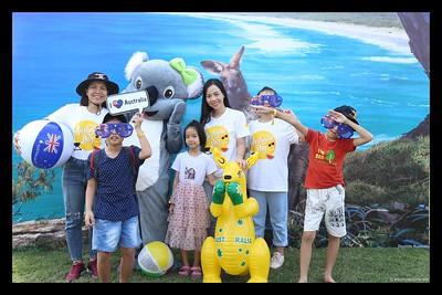 Australian Consulate-General   The Australia Day Community Event 2020 @ RMIT Saigon South Campus instant print photo booth   Chụp ảnh in hình lấy liền Sự kiện tại TP Hồ Chí Minh   WefieBox Photobooth Vietnam