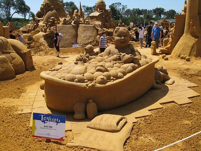 Sand Sculptures 28-12-2011