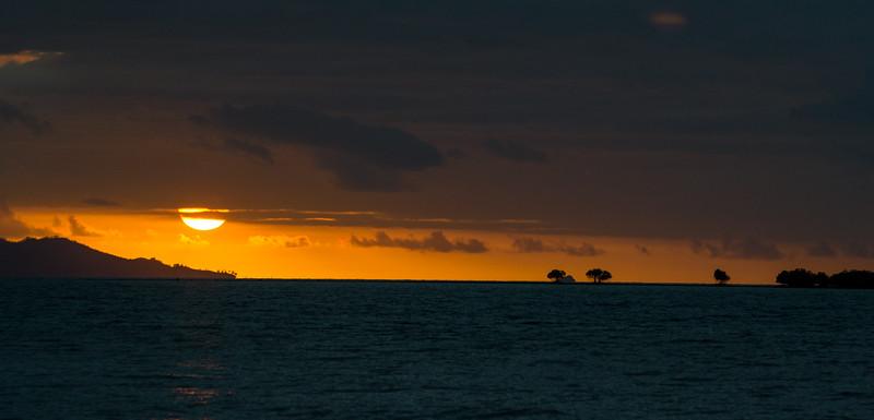 Sunset, Fiji
