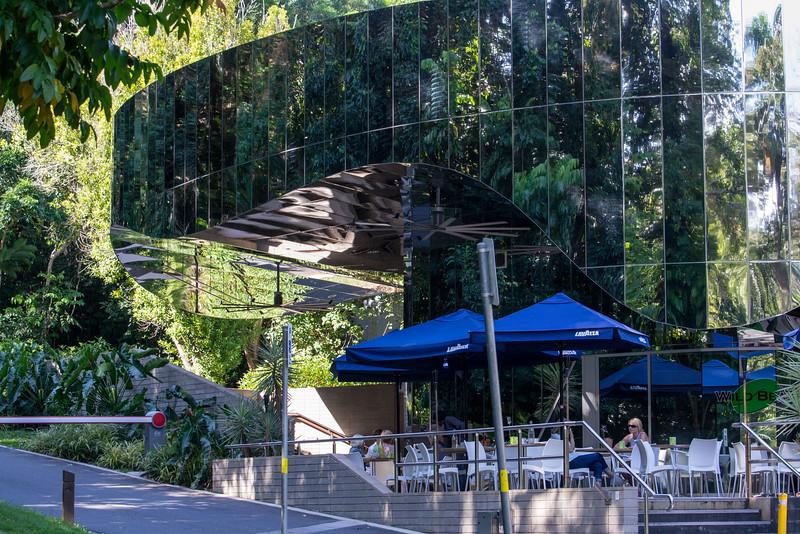 Visitors Center, Cairns Botanical Gardens, Cairns, Australia.