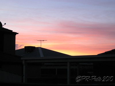 Sherwood Sunset 4th Dec 2010