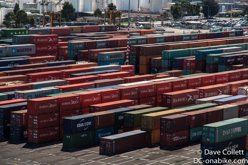 Containers coming and going
