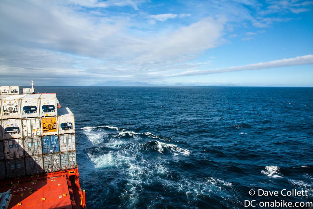 Rakiura/Stewart Island on the horizon!