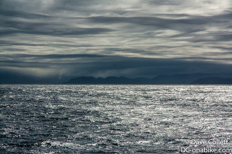 Moody weather over Fiordland