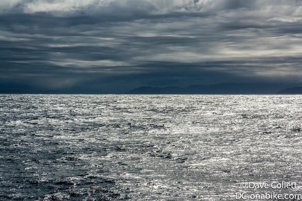 Moody weather over Fiordland