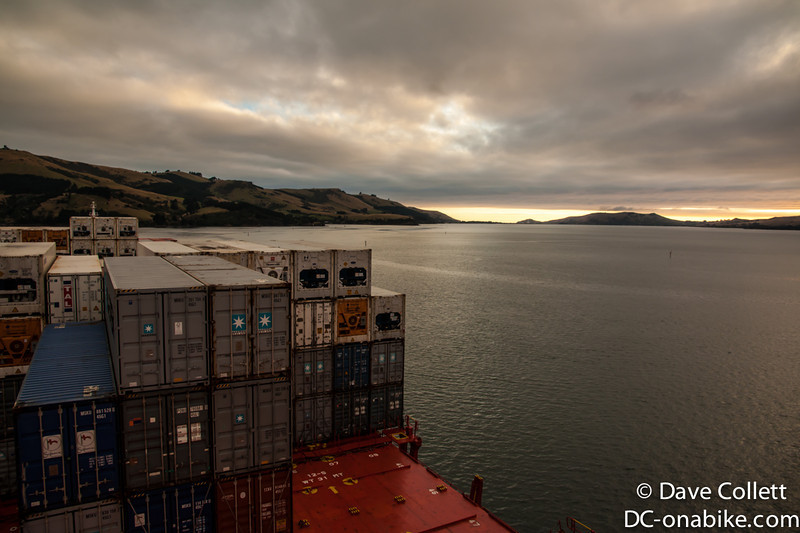 Dawn at Port Chalmers