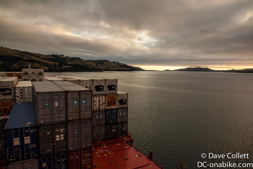 Dawn at Port Chalmers