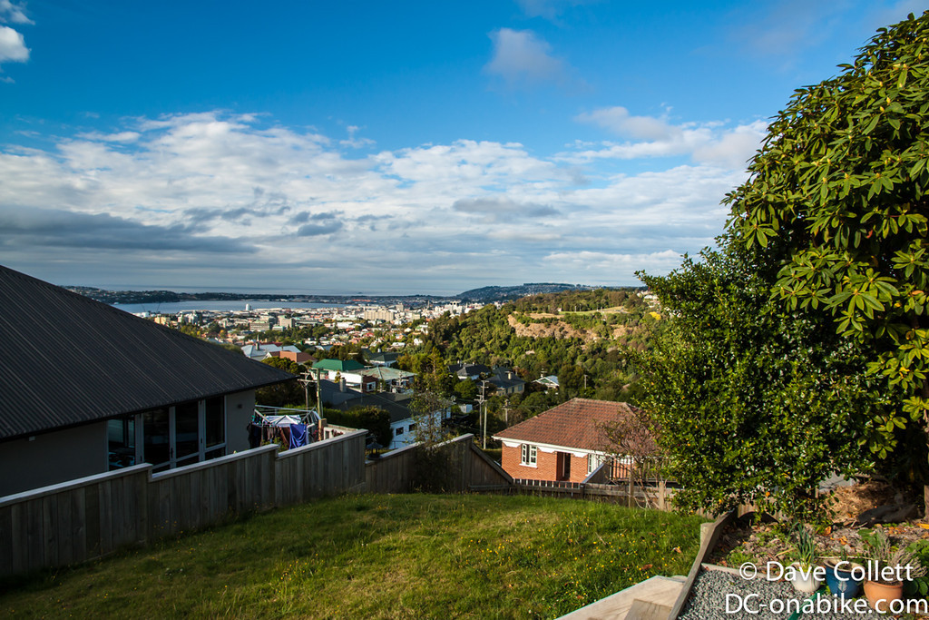 View from my friend's place in Dunedin!