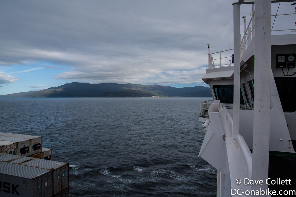 Off the north coast of Rakiura/Stewart Island