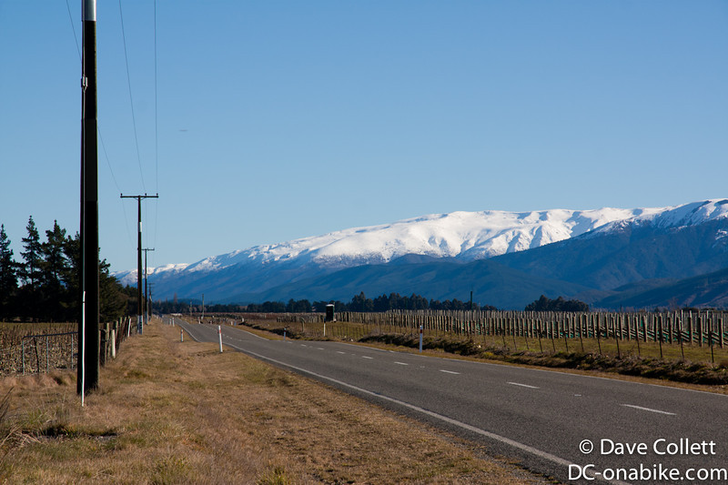 Snow on the hills