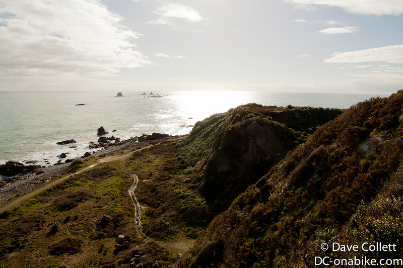 Some of the view at Cape Foulwind