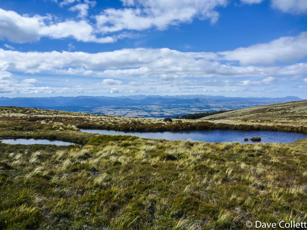 Te Anau Basin in the distance