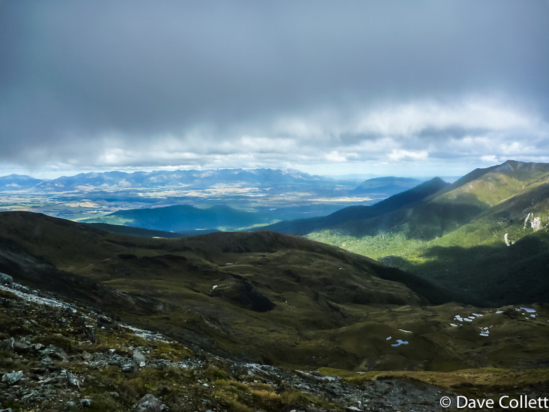 Te Anau Basin from Mt Luxmore