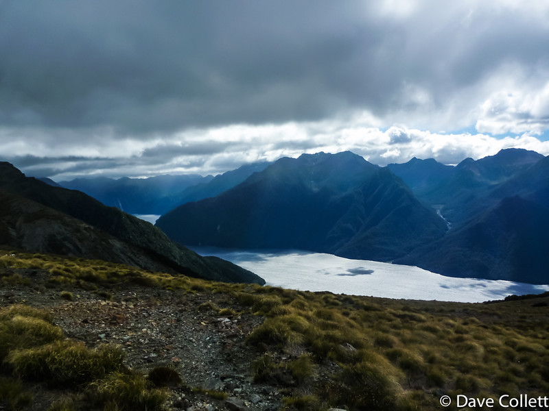 Stormy clouds over South Fiord