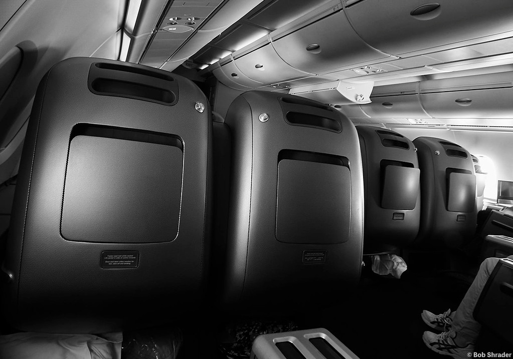 Business Class on an Airbus