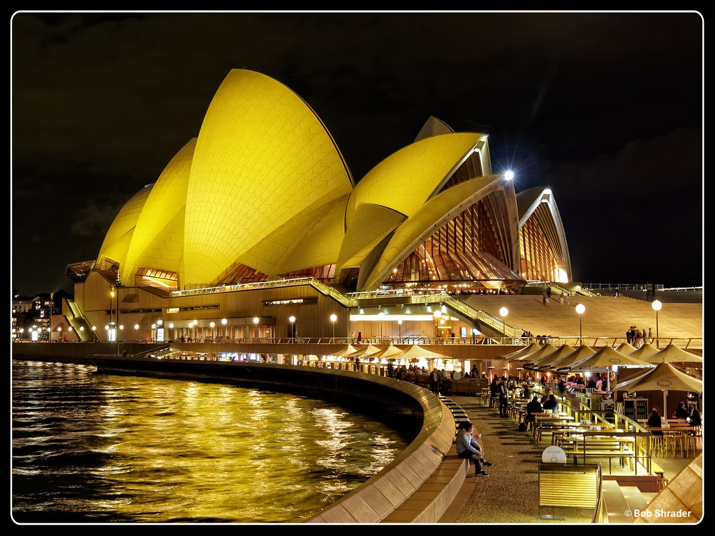 Opera House at Night