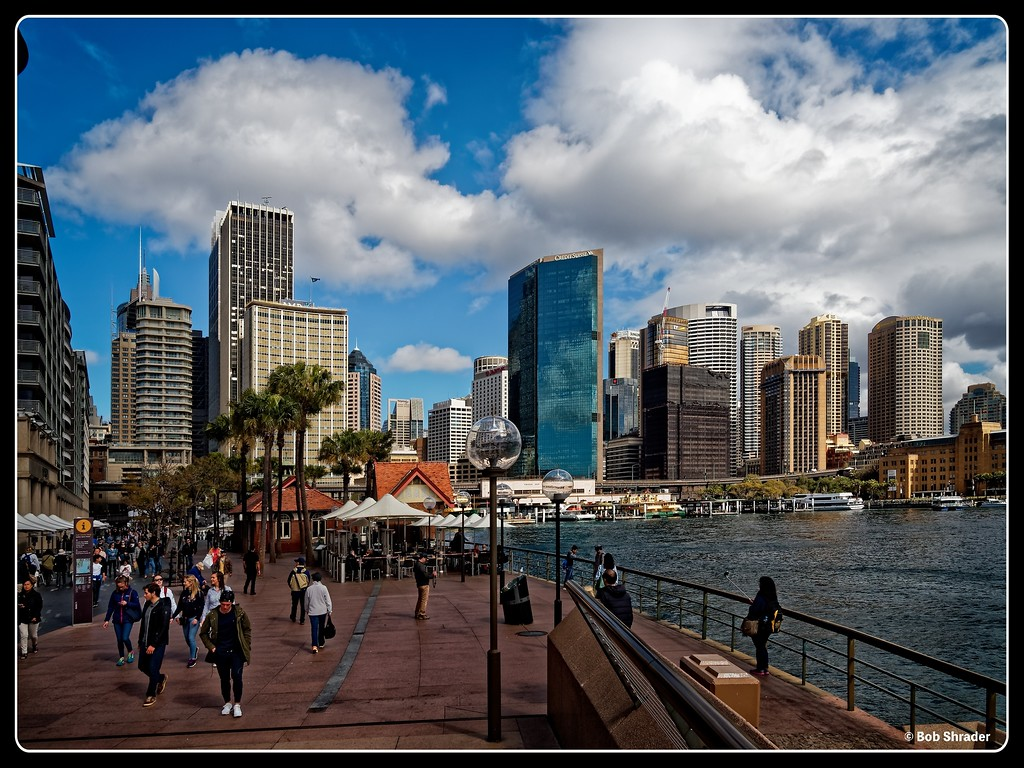 Sydney Harbor Tourist Area
