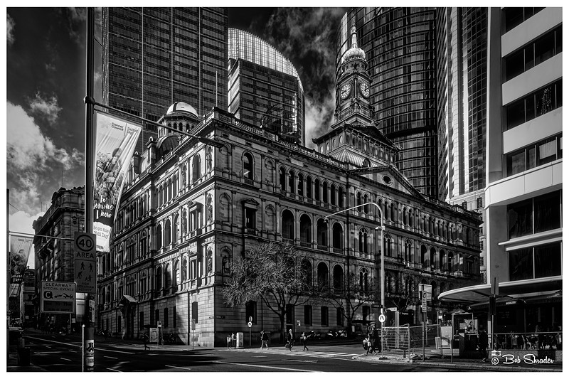 Historic Building in Faux Infrared