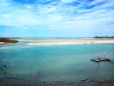 Mouth of the Maroochy river
