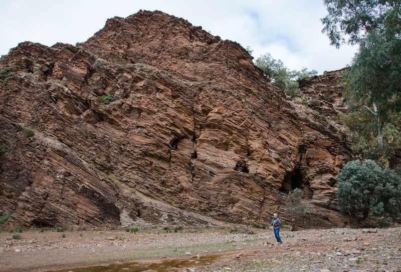 that went past geology over 500 million years old.  Fantastic!