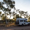 We spent our last night west of Alice at Glen Helen Homestead, at the bush camp in the dry creek bed across the road from the building.