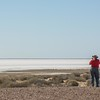and makes for great views.  Rick adds that before the Bonneville Salt Flats in the US took over, land speed record attempts were made here at Lake Eyre.